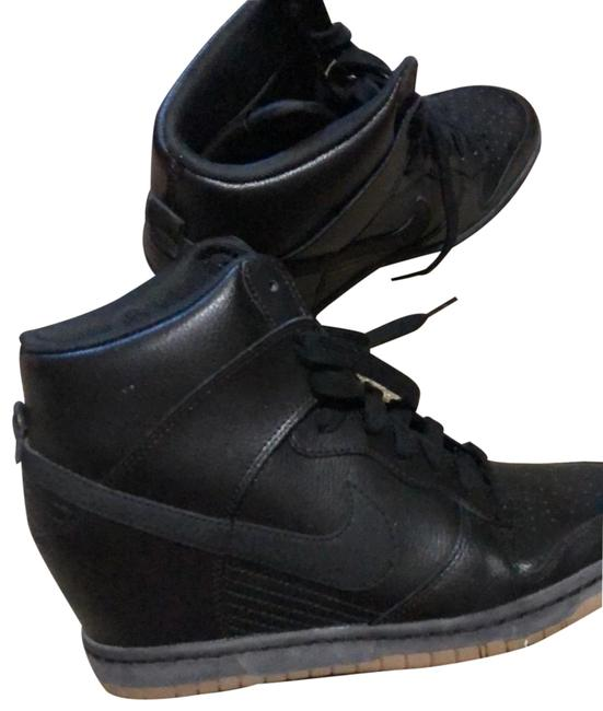 Item - Black Dunk Sky Hi Essential Sneakers Size US 8.5 Regular (M, B)