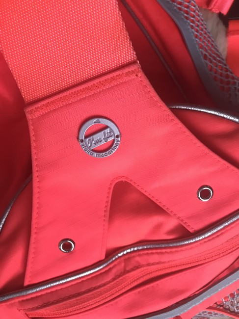 adidas By Stella McCartney Tote Backpack Tennis / Red Polyester Weekend/Travel Bag adidas By Stella McCartney Tote Backpack Tennis / Red Polyester Weekend/Travel Bag Image 12
