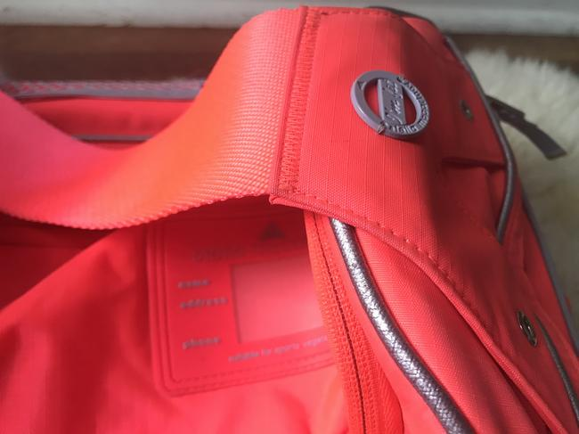 adidas By Stella McCartney Tote Backpack Tennis / Red Polyester Weekend/Travel Bag adidas By Stella McCartney Tote Backpack Tennis / Red Polyester Weekend/Travel Bag Image 6