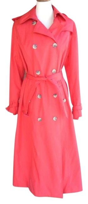 Item - Red Double Breasted Coat Size 14 (L)