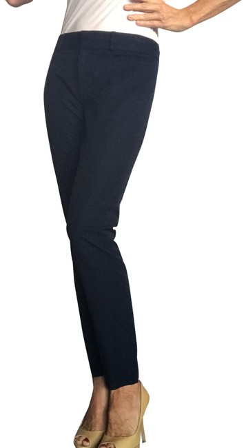 Item - Navy Blue Slim Leg Pants Size 0 (XS, 25)