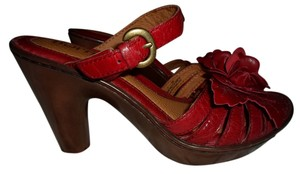 Børn Deep Brick Red Platforms