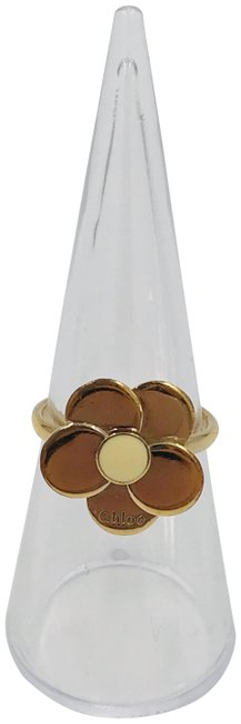 Item - Gold Box Flower Dust Bag and Paperwork Ring