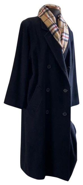 Item - Black Cashmere Coat Size 14 (L)