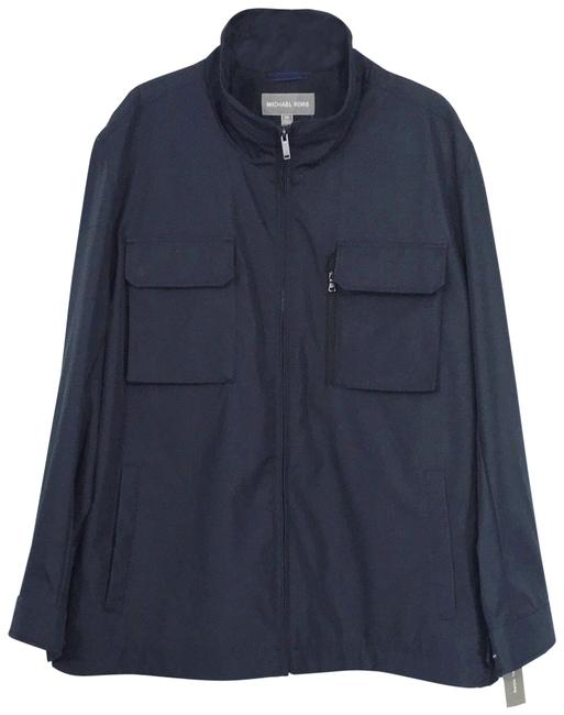 Item - Midnight Blue Water Cold Resistant Wind Proof Jacket Coat Size 22 (Plus 2x)