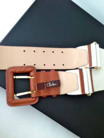 Cole Haan NWT: Military and /or Safari Inspired Wide Belt SIZE MEDIUM