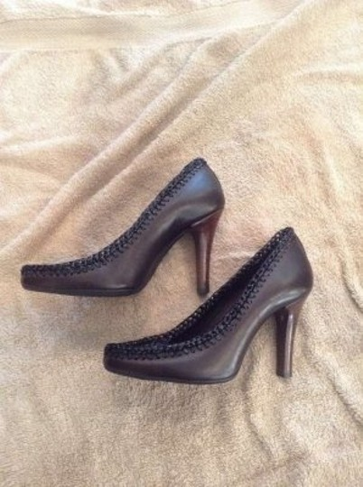 Burberry Black/brown Pumps