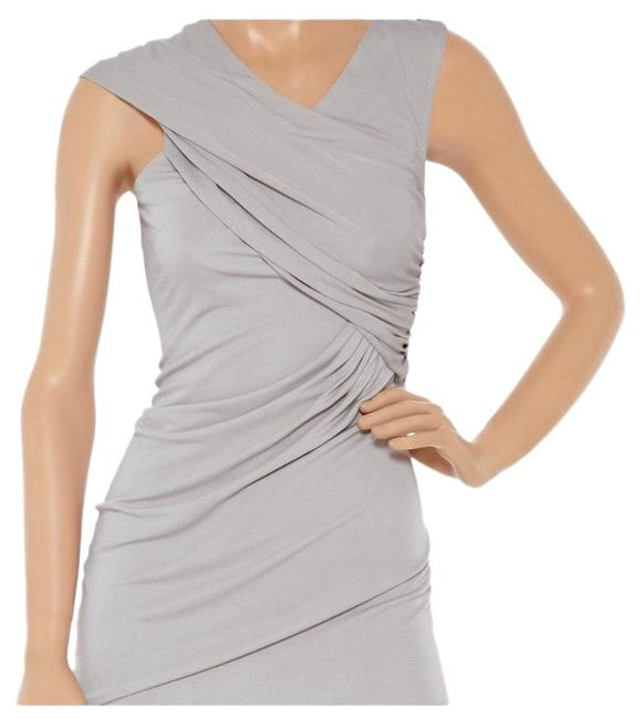 Item - Grey Ruched Mini Short Night Out Dress Size 0 (XS)