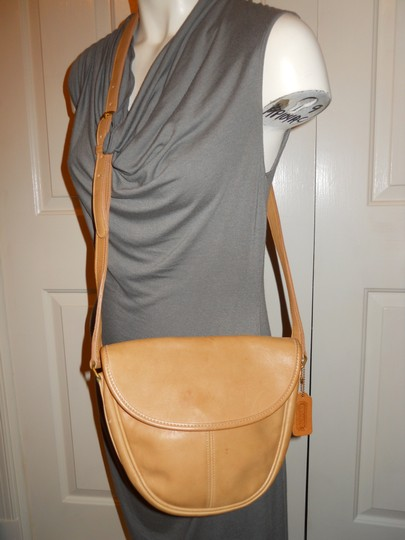 Coach Leather Os Cross Body Bag