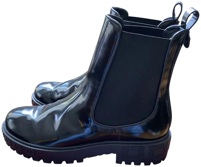 Item - Black Varsi Chunky Boots/Booties Size US 9.5 Wide (C, D)