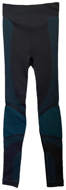 Item - Black/Teal Green Leggings Msrp 120 Activewear Sportswear Size 2 (XS, 26)