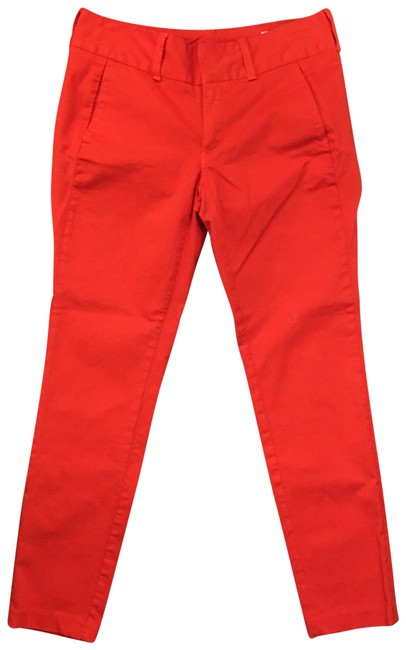 Item - Red And Skinny Jeans Size 4 (S, 27)