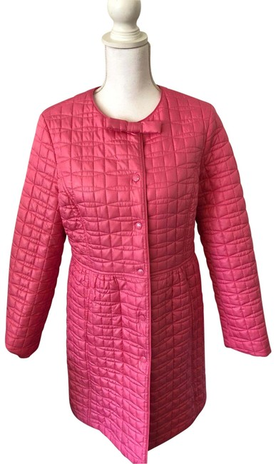 Item - Pink Quilted Jacket Size 12 (L)