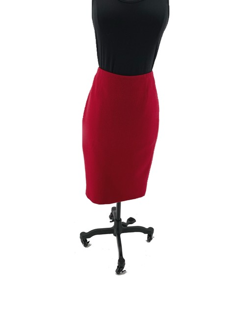 Item - Red Pencil Skirt Size 6 (S, 28)