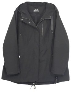 Sebby Water-resistant Hooded Raincoat