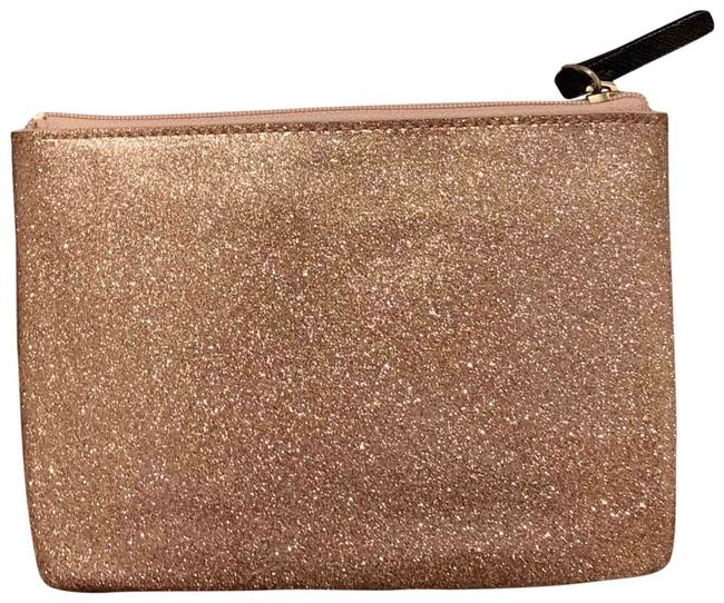 Item - Blue Gold Silver Mini Pouch Mavis Street Color Cosmetic Bag