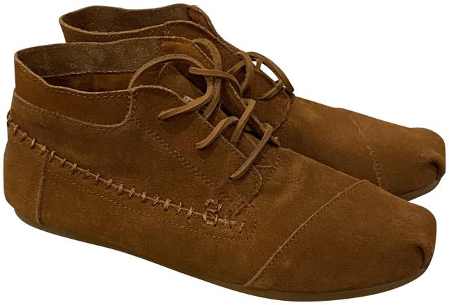 Item - Chestnut Suede Tribal Boots/Booties Size US 10 Regular (M, B)