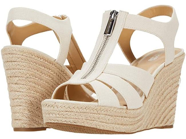 Item - Light Cream Berkley Platform Sandal Wedges Size US 7.5 Regular (M, B)