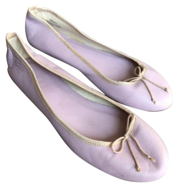 Item - Purple Classic Ballet Genuine Leather Made In Italy Flats Size US 9 Regular (M, B)