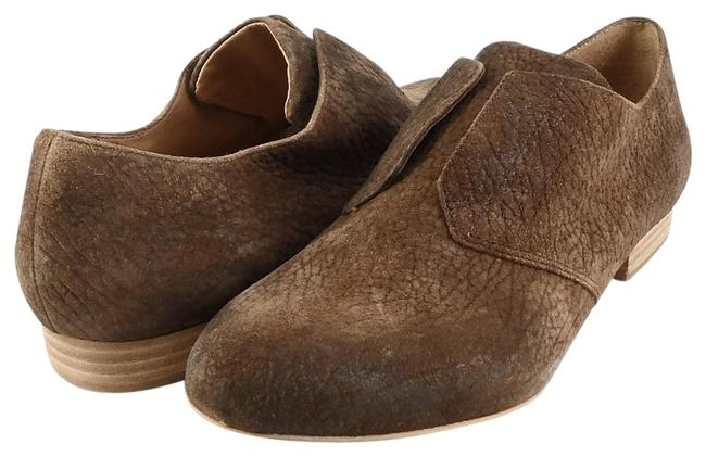 Item - Cuoio Brown Marlene Suede Slip On Loafers Flats Size EU 37 (Approx. US 7) Regular (M, B)