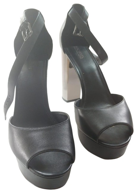 Item - Black Heels Platforms Size US 9.5 Regular (M, B)