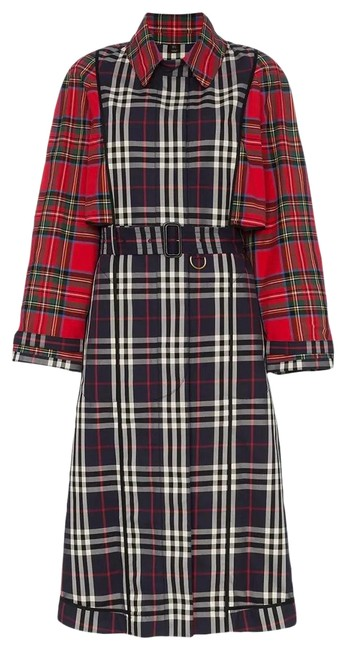 Preload https://img-static.tradesy.com/item/28051519/burberry-patchwork-checked-us6-coat-size-6-s-0-2-650-650.jpg