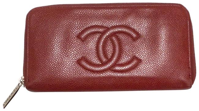 Item - Red Cherry Timeless Zip 2010 Wallet