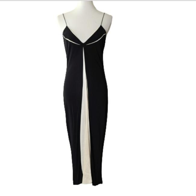 Item - Black & White Evening Long Formal Dress Size 6 (S)