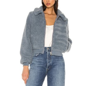 Item - Dusty Blue Laken Jacket Coat