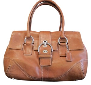 Coach Satchel Buckle Hardware Shoulder Bag