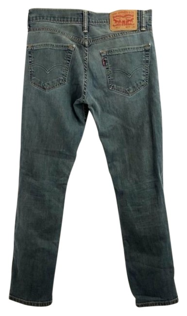 Item - Blue Medium Wash 511 Slim Relaxed Fit Jeans Size 29 (6, M)