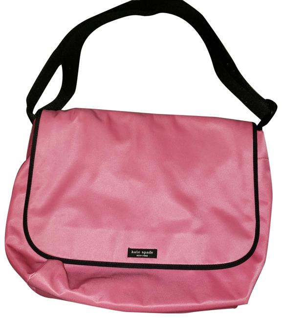 Item - Pink Nylon Messenger Bag