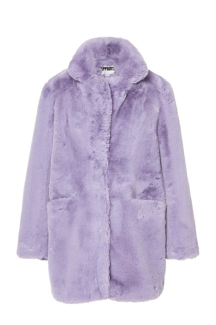 Item - Lilac W New W/ Tag 2020 Rare Sophie Faux Coat Size 2 (XS)