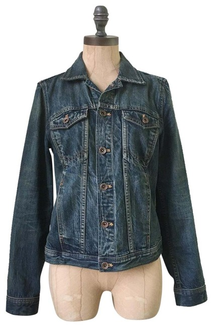 Item - Blue Jean In Storm Cold Wash Jacket Size 6 (S)
