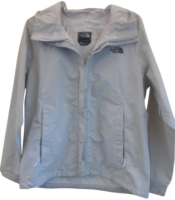 Item - Gray New Hooded Nylon/Poly Windbreaker/Jacket Jacket Size 12 (L)