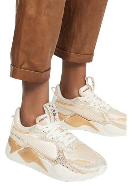 Item - Gold Cream Rs-x Winter Glimmer Sneakers Size US 8.5 Regular (M, B)