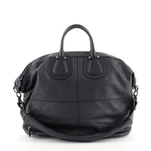 Givenchy Nightingale Leather Satchel in Blue