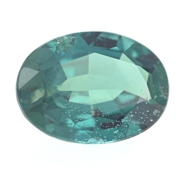 Item - Blue-green Loose Alexandrite - Oval Cut 1.30ct Gia Green-blue To Pinkish