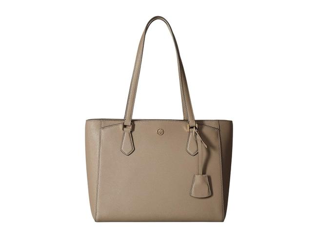 Item - Robinson New with Blue Grey Heron Leather Tote