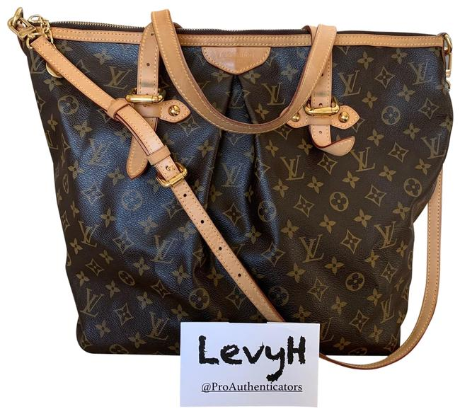 Louis Vuitton Palermo Gm Monogram In Brown Canvas Leather Hobo Bag Louis Vuitton Palermo Gm Monogram In Brown Canvas Leather Hobo Bag Image 1