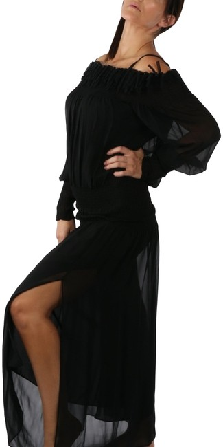 Preload https://img-static.tradesy.com/item/28056021/la-perla-black-two-piece-off-shoulder-drop-waist-sleeve-gown-long-cocktail-dress-size-10-m-0-1-650-650.jpg