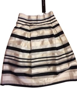 Beulah Skirt Black And White