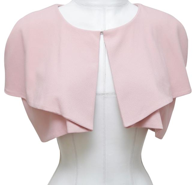 Item - Pink Bolero Cardigan Cap Sleeve Open Front Poncho/Cape Size 4 (S)