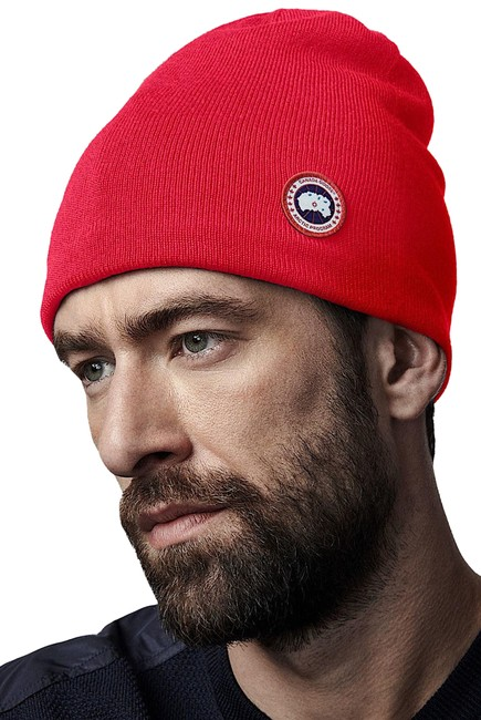 Item - Red New With Tag Standard Wool Blend Beanie Hat