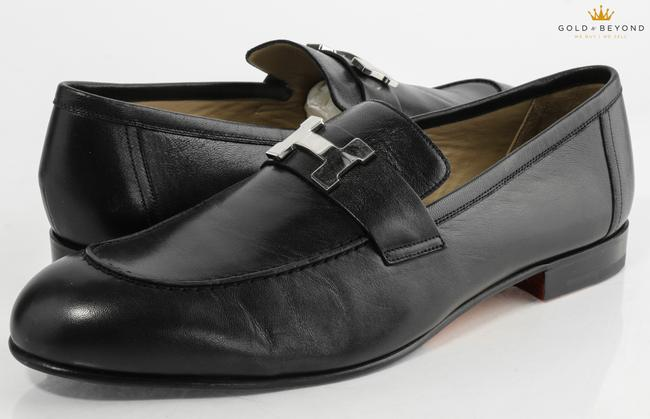Item - Black Paris Loafers Size 45a Shoes