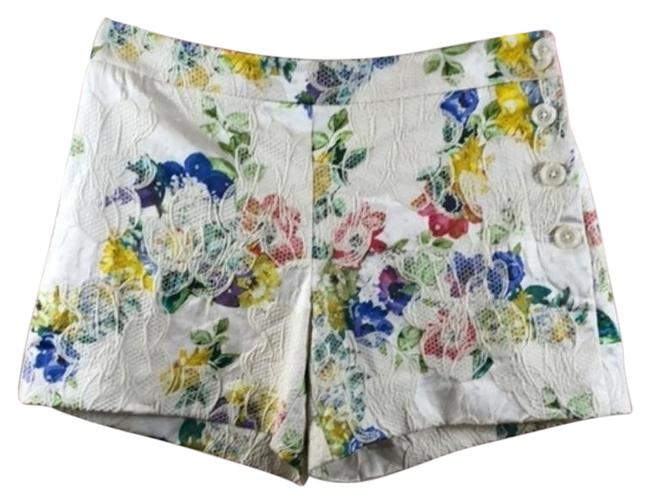 Item - Cream Pink Catalonia By Elevenses Shorts Size 4 (S, 27)