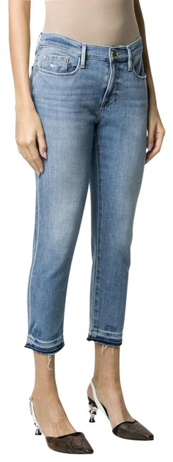 Item - Cortez Bend Blue Low Rise Cropped Skinny Jeans Size 25 (2, XS)