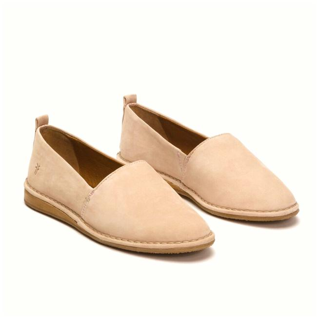 Item - Nude Helena A Line Loafers Suede Slip Ons Flats Size US 7.5 Regular (M, B)