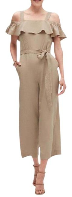 Item - Tan Casual Jumpsuit Pants Size 2 (XS, 26)