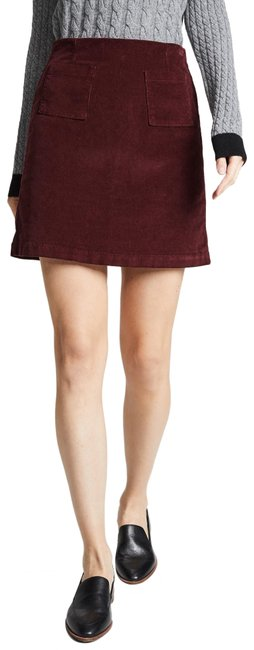 Item - Red Lucy Corduroy Skirt Size 0 (XS, 25)